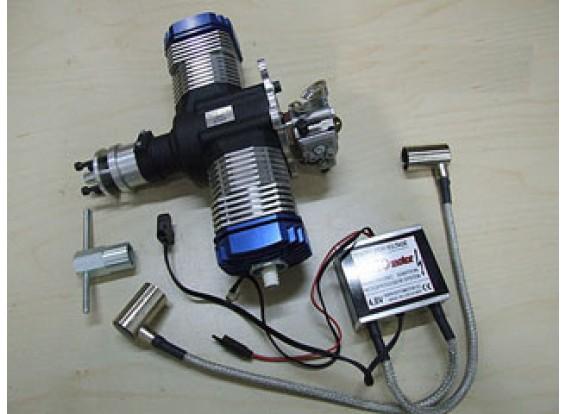 RotorMotor 50V2 Gasolina motor / Gás w / Elec Ignition