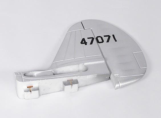 P-40N (Silver) 1700 milímetros - Leme substituição