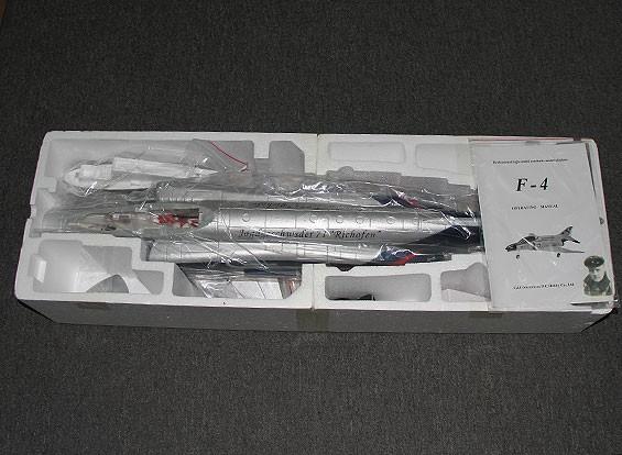 RISCO / DENT F4-J Fighter - 70 milímetros EDF (alemão Scheme) Jet (PNF)