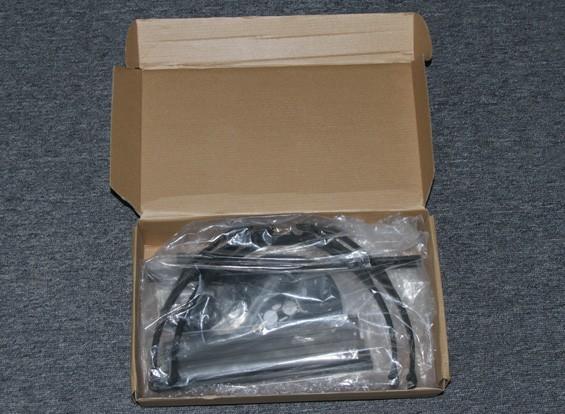 RISCO / DENT Hobbyking X580 Glass Fiber Quadrotor Quadro w / Camera Mount 585 milímetros