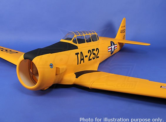 RISCO / DENT norte-americana AT-6 Texan 2,135 milímetros Composite (ARF) (UK Warehouse)