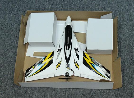 RISCO / DENT Parkjet 2 asa alta velocidade com 3 eixos vôo Estabilizador EPO 550 milímetros (Modo 2) (RTF)