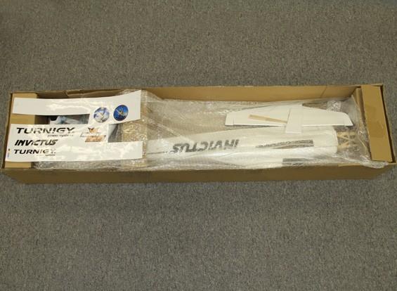RISCO / DENT - HobbyKing Invictus EF-1 Pylon Racer Balsa 1.288 milímetros - Full White (ARF)