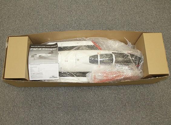 RISCO / DENT - F9F-8 Puma 90 milímetros EDF Composite 1.100 mm (PNF)