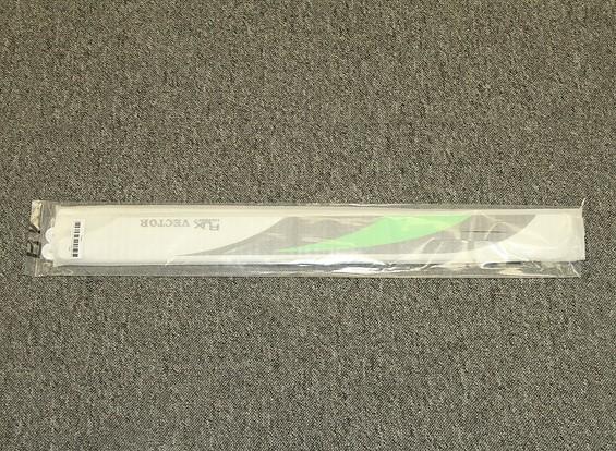 RISCO / DENT - Fibra de Carbono 600 milímetros RJX Vector 3K Flybarless Blades principal