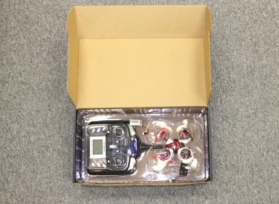 RISCO / DENT - Aerocraft Mini Quadrotor com Micro Camera e luzes (Modo 2) (pronto para voar)