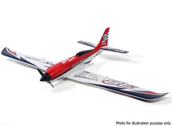 RISCO / DENT - Durafly ™ EFX Racer High Performance Sports Modelo (FNP) - Edição vermelha