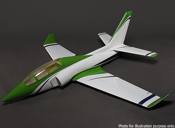 RISCO / DENT - ViperJet Composite 90 milímetros EDF Jet 1.370 milímetros (ARF)