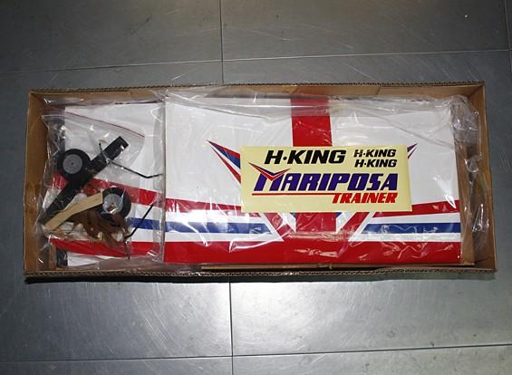 RISCO / DENT - HobbyKing ™ Mariposa Slowflyer instrutor Balsa 1,120 milímetros (ARF)