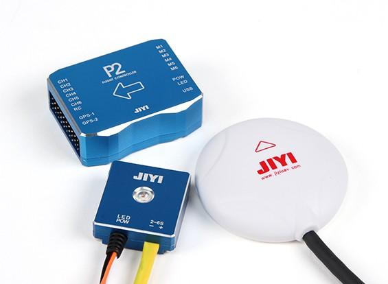 RISCO / DENT - Jiyi P2 Multirotor Autopilot Sistema de Controle de Voo