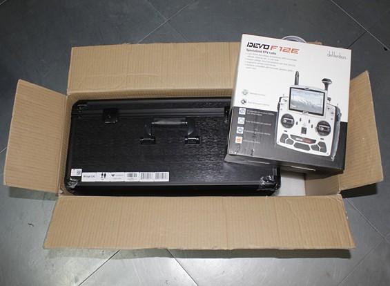 RISCO / DENT - Walkera Voyager 3 GPS / FPV 1080p 60fps Camera Quadrotor Com Devo F12E (RTF)