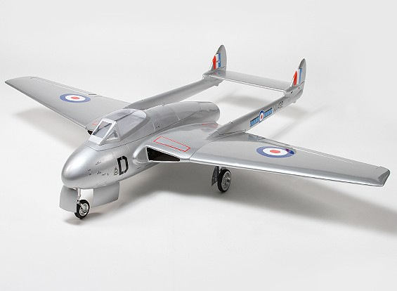 RISCO / DENT - De Havilland Vampire 90 milímetros EDF Composite 1.410 milímetros (PNF) (AU Warehouse)