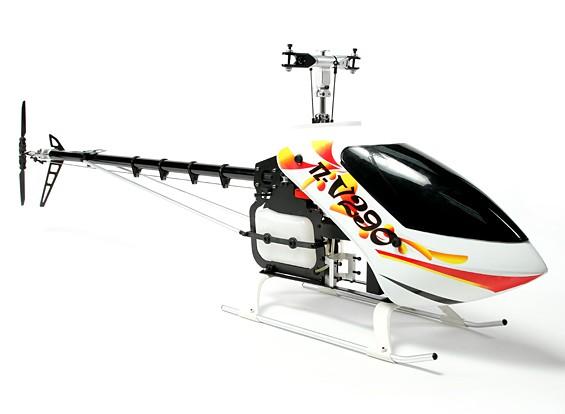 RISCO / DENT - TZ-V2 0,90 Tamanho Nitro competição Flybarless 3D Kit Helicopter (Belt D (AU Warehouse)