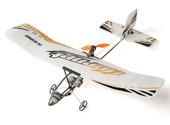 RISCO / DENT - Hornet Micro interior RC Avião w / Transmissor (Mode2)