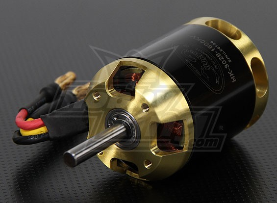 Scorpion HK-3026-1600kv Brushless Outrunner Motor