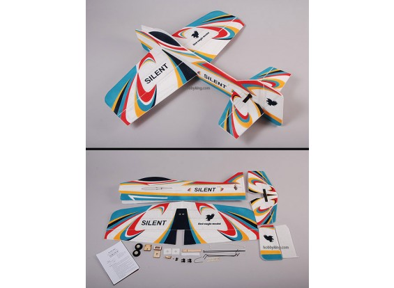 Silenciosa Modelo EPP 3D Air Plane (Unbreakable)