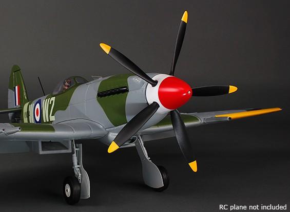 Durafly ™ 5-Blade Set Hélice / Spinner para Mk-24 Spitfire