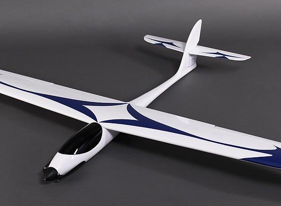 GL-Speedy Fibra Glider vidro 1,600 milímetros w / motor / ESC / Servos (PNF)