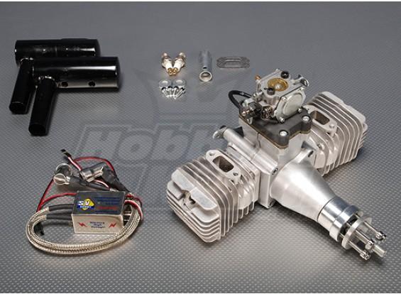SV 100cc gêmeo Gas CDI motor 7.1kw (ver2) Sellout