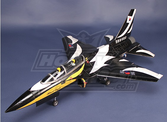T-50 70 milímetros EDF Jet Plug-n-Fly (Black)