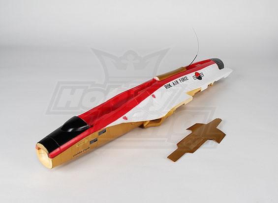 T50 vermelho / ouro Fuselagem