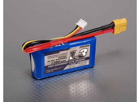 Turnigy 1300mAh 2S 20C Lipo pacote
