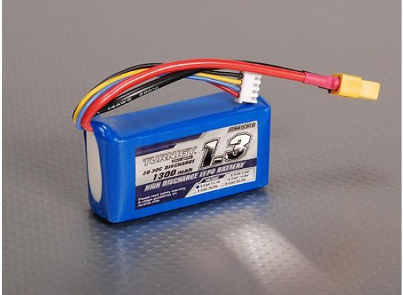 Turnigy 1300mAh 3S 20C Lipo pacote