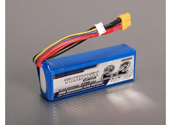Turnigy 2200mAh 3S 35C Lipo pacote