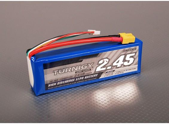 Turnigy 2450mAh 4S 30C Lipo pacote