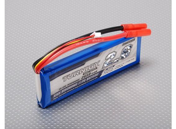 Turnigy 2650mAh 2S 30C Lipo pacote