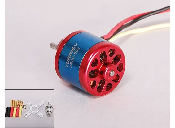 800kV Turnigy 2830 Brushless