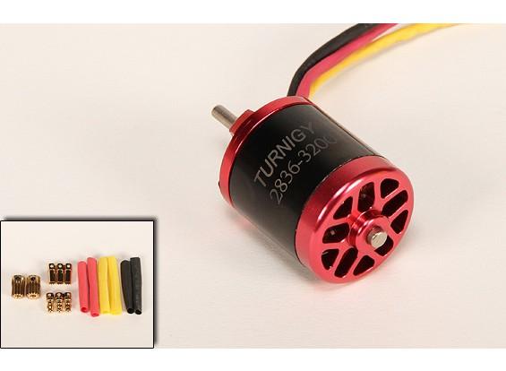 3200kv Turnigy 2836 Brushless EDF Motor