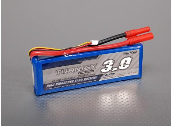 Turnigy 3000mAh 2S 40C Lipo pacote