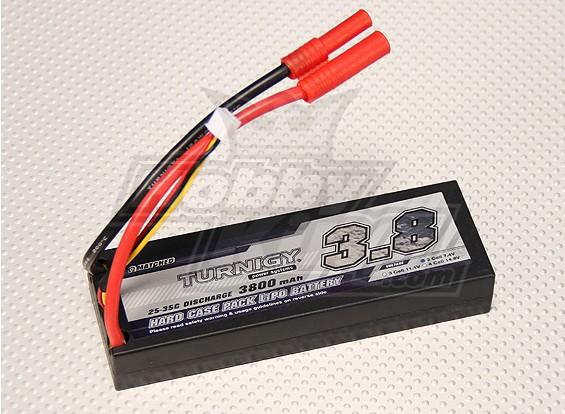 Turnigy 3800mAh 2S1P 7.4V 25C Hardcase pacote