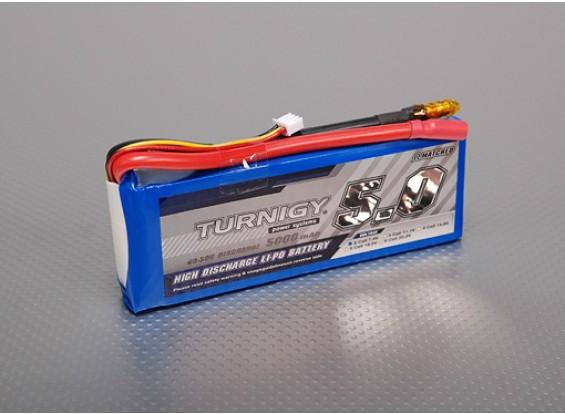Turnigy 5000mAh 2S 40C Lipo pacote