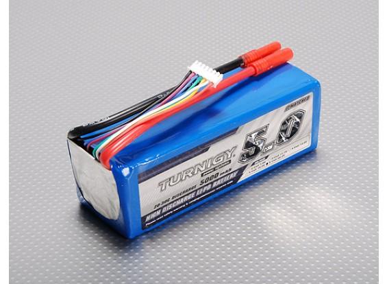 Turnigy 5000mAh 6S 20C Lipo pacote
