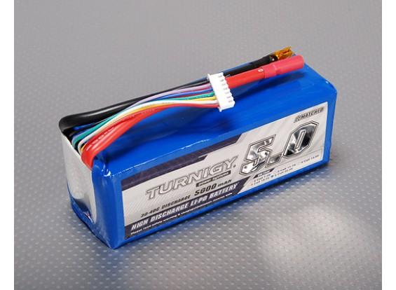 Turnigy 5000mAh 6S 30C Lipo pacote