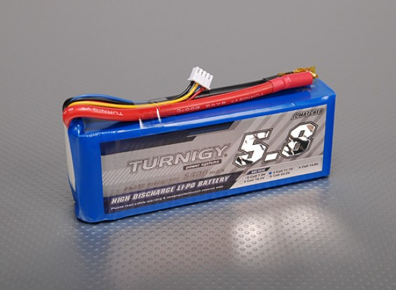 Turnigy 5800mAh 3S 25C Lipo pacote