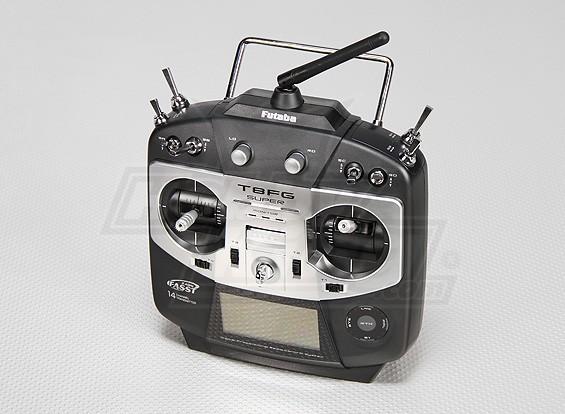 Futaba T8FG Transmissor Super 14ch w / R6208SB 2.4GHz Receiver (Modo 1)