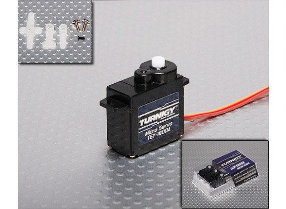 Turnigy ™ TGY-1800A Servo 1,5 kg / 0.10sec / 8g (3-Pack)