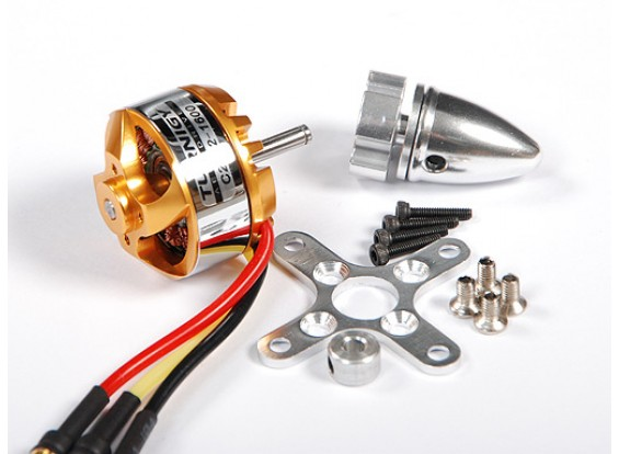 Turnigy 28-22-A 1600Kv Outrunner (Eq: 2204)