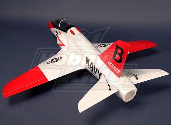 BAE Hawk - Red Arrow 70 milímetros EDF 990 milímetros kit Jet - Branco (EPO)