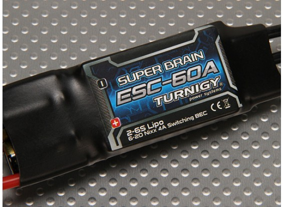 Turnigy Super Cérebro 60A Brushless ESC