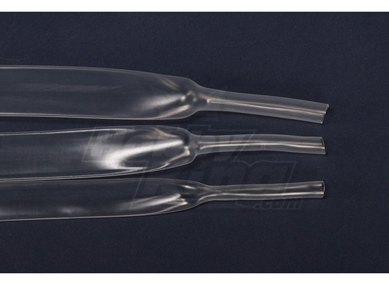 Turnigy psiquiatra do calor 16 milímetros tubo transparente (1mtr)
