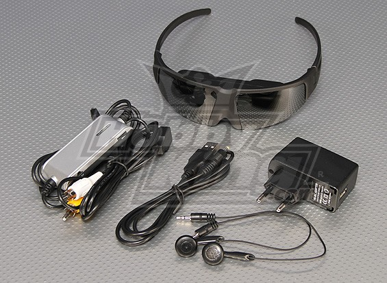 Turnigy BÁSICOS FPV Goggles 428 x 240 Ecrã Grande