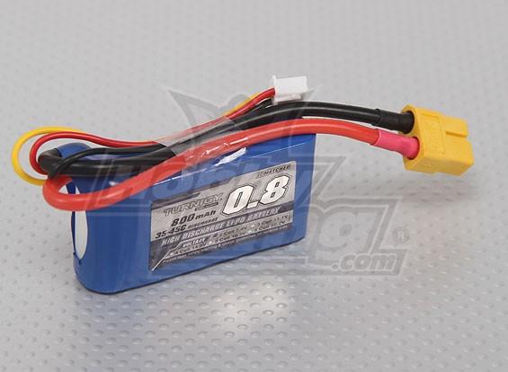 Turnigy 800mAh 2S 35C Lipo pacote