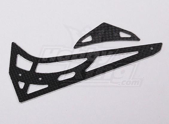 HK450V2 CF horizontal / vertical da cauda fin