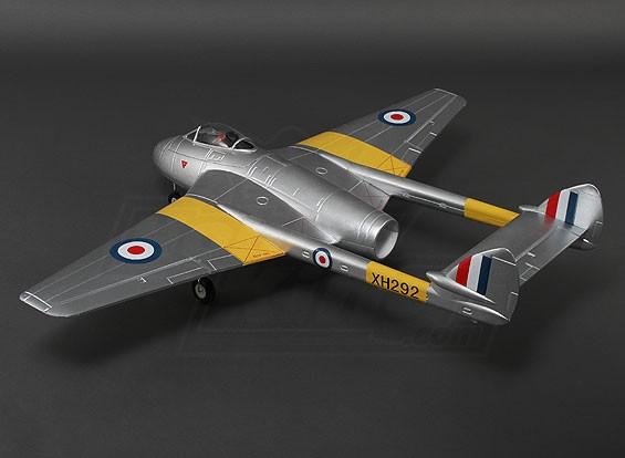 Durafly ™ DH100 vampiro Mk6 EDF Jet w / retrai 1.100 mm (PNF)