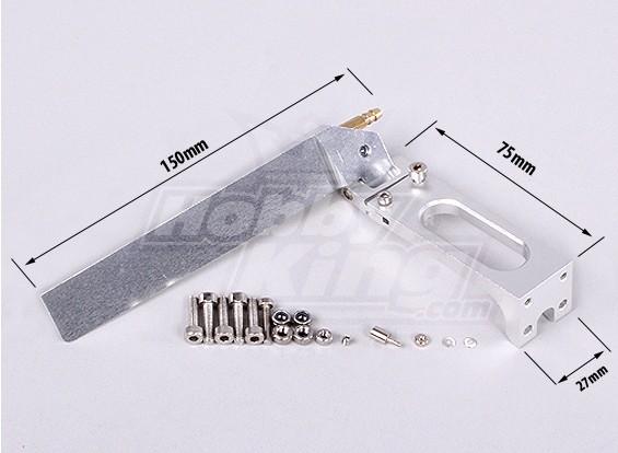 150 milímetros Leme - Terno HobbyKing Vanquish BARCO 1075mm
