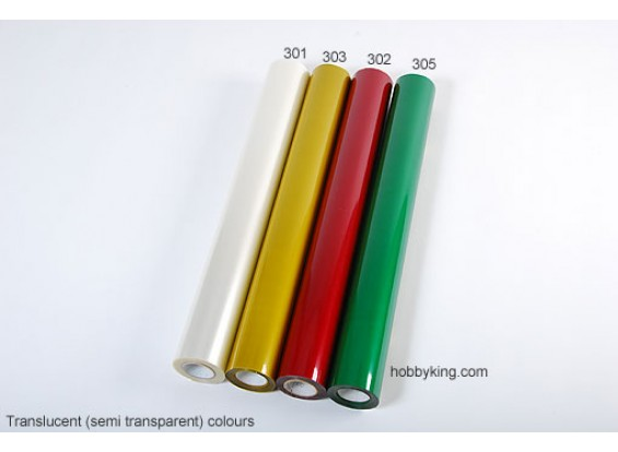 Cobertura película transparente Translúcido (5mtr) 301